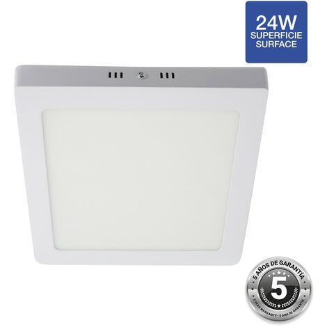 Spot LED 24W saillie carré - 5 ans de garantie