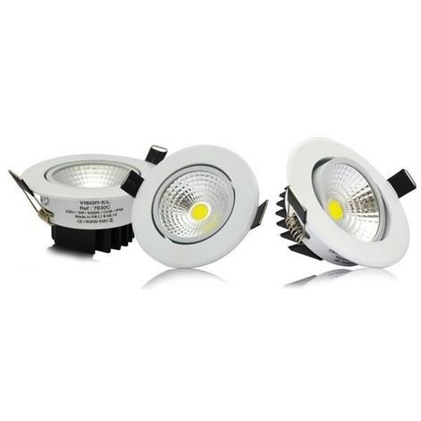 Spot LED 3W (30W) encastrable orientable