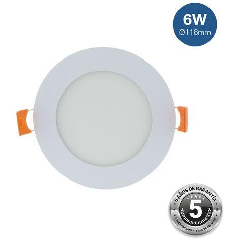 Spot LED 6W encastrable extra-plat rond