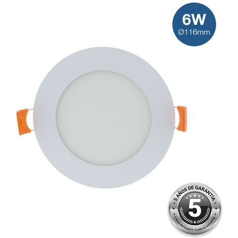 Spot LED 6W encastrable extra-plat rond