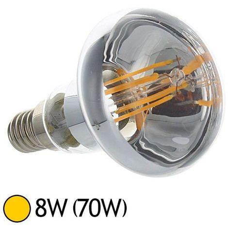 Spot Led 8W (70W) E27 Filament COB R80 Blanc chaud 2700°K