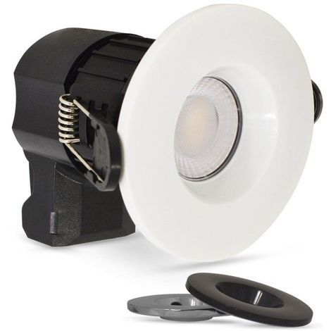 Spot LED BBC encastrable 7W (60W) Multi blanc CCT 2700-3000-4000°K 3 finitions