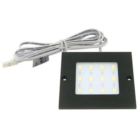 Spot led carré 12v extra-plat - Température de couleur : 3000 K - ITAR