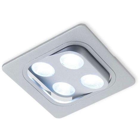 Spot led carré orientable java square - 12 v - 4,8 w - VOKIL