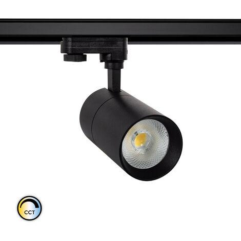 Spot LED CCT Sélectionnable New Mallet 30W pour Rail Triphasé