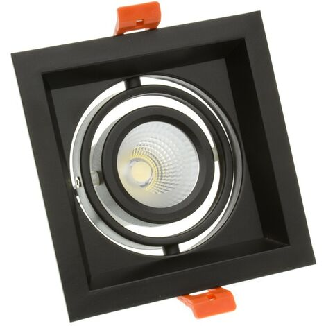 Spot LED Cree-COB Madison Orientable 10W Noir LIFUD (UGR 19)