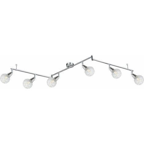 Spot LED de haute qualité en chrome, spots réglables, CICER