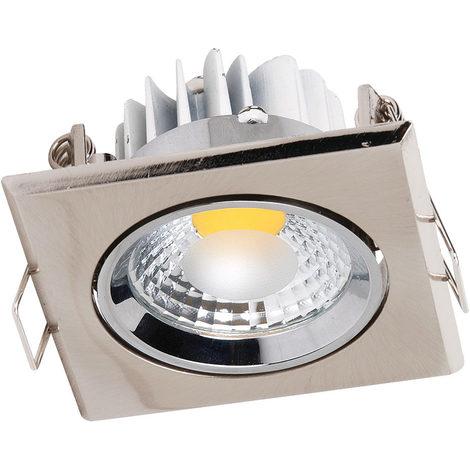 Spot LED downlight carré Matchrome 3W (Eq. 25W) Dim 90x90mm