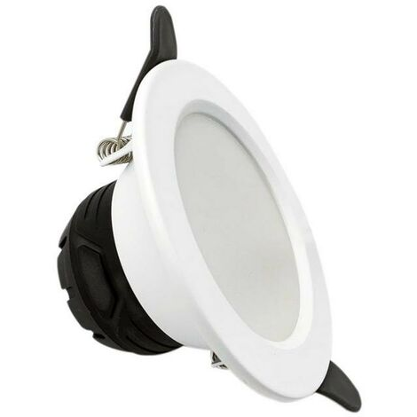 Spot LED Downlight Encastrable 6W Rond Blanc - Blanc Froid 6000K - 8000K