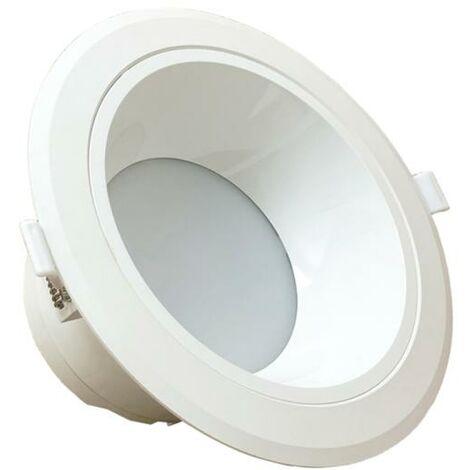 Spot LED Downlight Rond 30W Blanc - Blanc Froid 6000K - 8000K