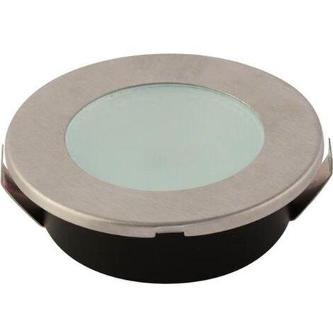 Spot LED downlight rond Mat chrome 2W (Eq. 16W) Diam 65mm