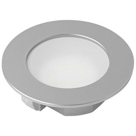 Spot LED Eco ALU Op. ww 10er Set,12V, 1.5W, 1.8m