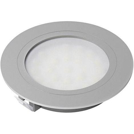 Spot LED Eco Alu Opnw,12V,1,7W, bague mat