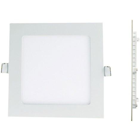 spot led encastrable 24w extra plat carr blanc froid. Black Bedroom Furniture Sets. Home Design Ideas