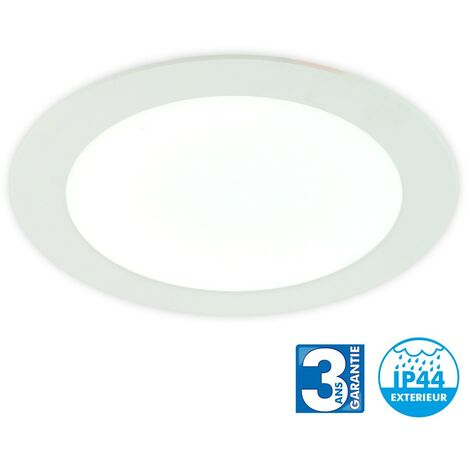 Spot LED Encastrable 25 Watts Eq 180W IP44