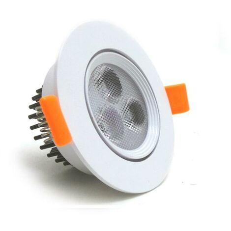 Spot LED Encastrable 3W 80 Orientable