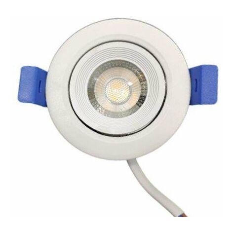 Spot LED Encastrable 7W 38° Orientable