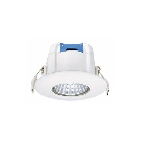 Spot LED encastrable Aquapro - 8W - 3000K - Rond - Blanc - Non dimmable
