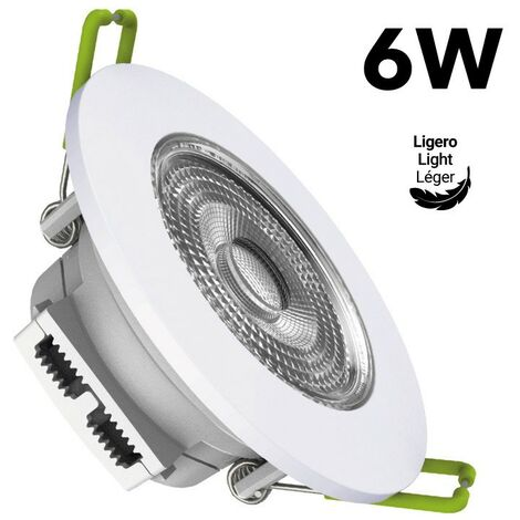 Spot LED encastrable basculable 6W IP20