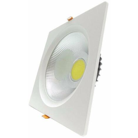 Spot LED Encastrable Carré Downlight 30W 195mm