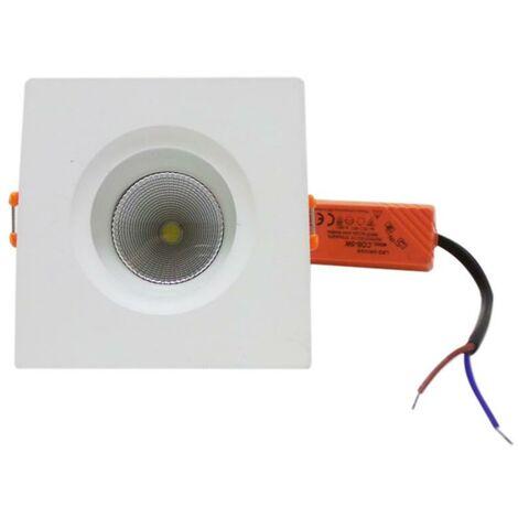 Spot LED Encastrable Carré Downlight 5W 80