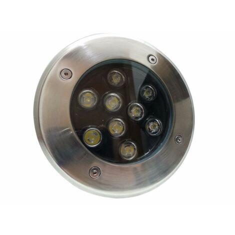 Spot LED Encastrable Extérieur IP65 220V Sol 9W 60
