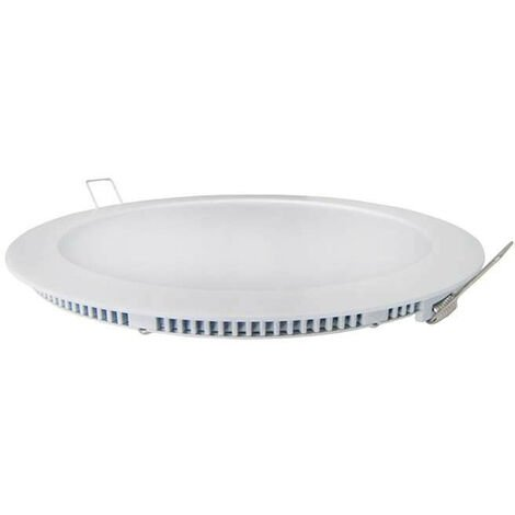 Spot LED encastrable extra plat 6W Blanc - Blanc Naturel 4200K