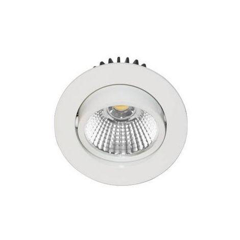 Spot LED encastrable orientable AL1014RD BLANC MAT