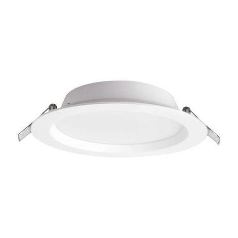 Spot LED encastrable pour salle de bains LED intégrée Megaman MM76716 19 W Rico blanc