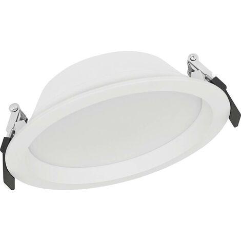 Spot LED encastrable pour salle de bains LEDVANCE DOWNLIGHT ALU 4058075091436 LED intégrée Puissance: 14 W blanc cha