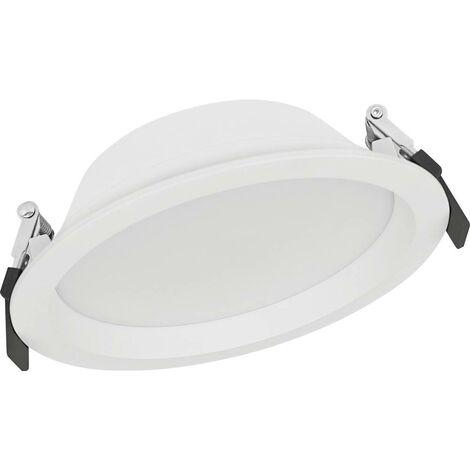Spot LED encastrable pour salle de bains LEDVANCE DOWNLIGHT ALU 4058075091450 LED intégrée Puissance: 14 W blanc neu
