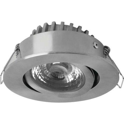 Spot LED encastrable pour salle de bains Megaman Rico MM76731 LED intégrée Puissance: 6.5 W blanc chaud N/A