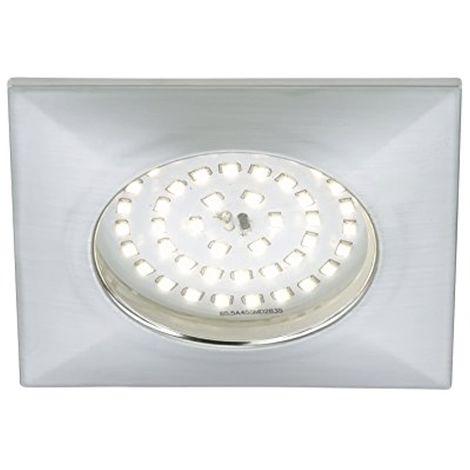 Spot LED encastrable, sans transformateur, faible profondeur de 30mm, diamètre 100mm, seulement rectangulaire