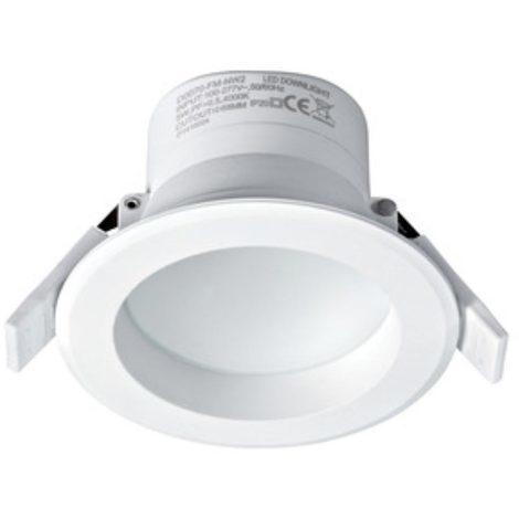 Spot LED encastré Grace - Blanc -IP 44 - 630 lm - 7W - Aric