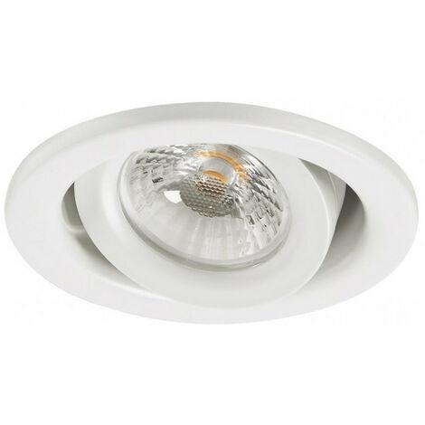 Spot LED encastre orientable 600lm blanc chaud 3000K DIM SYLVANIA