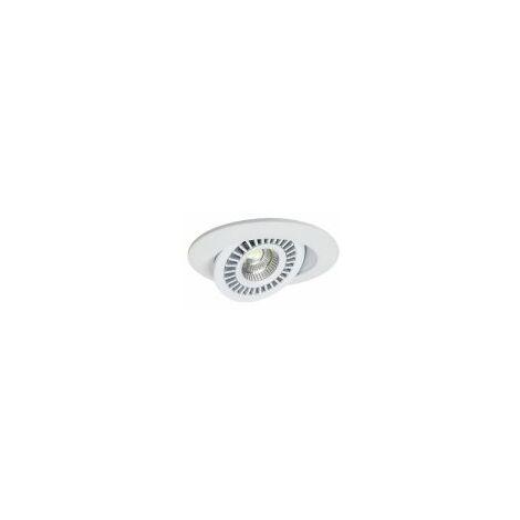 Spot LED Encastré Rond Orientable DISCO 7W - BBC - Blanc - Asled