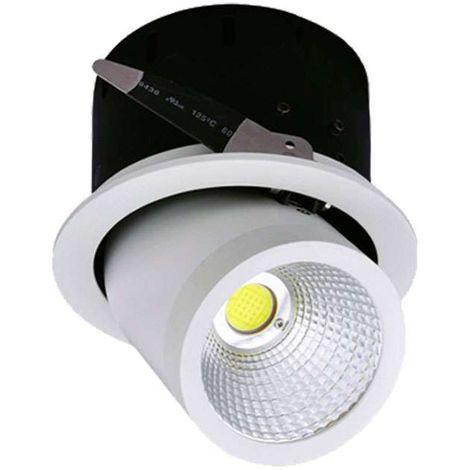 Spot LED Escargot Rond Orientable 35W équivalent 20W