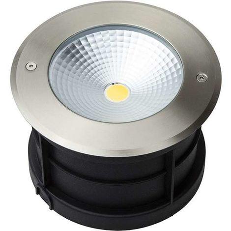 Spot LED Extérieur à Encastrer 18W (éclairage 150W) étanche IP67 | Bleu