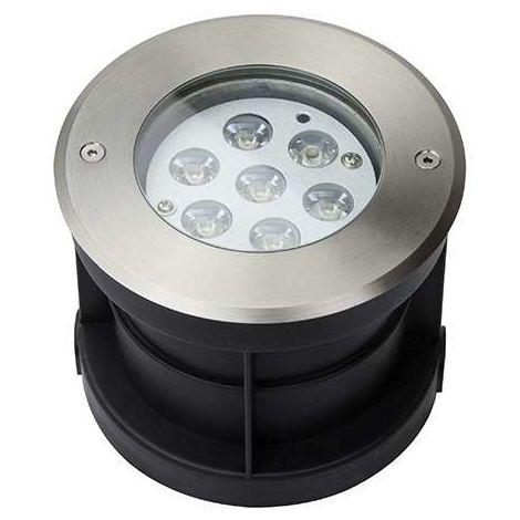 Spot LED Extérieur à Encastrer 7W (éclairage 50W)