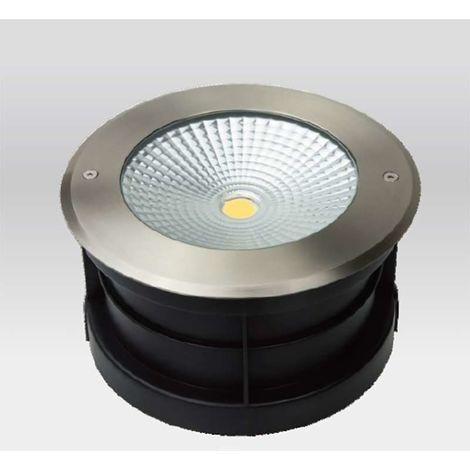 Spot LED Extérieur à enterrer ou encastrer 24W (éclairage 200W) étanche IP67