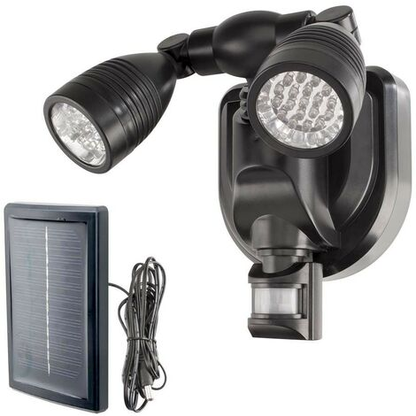 Spot LED extérieur avec détecteur de mouvements