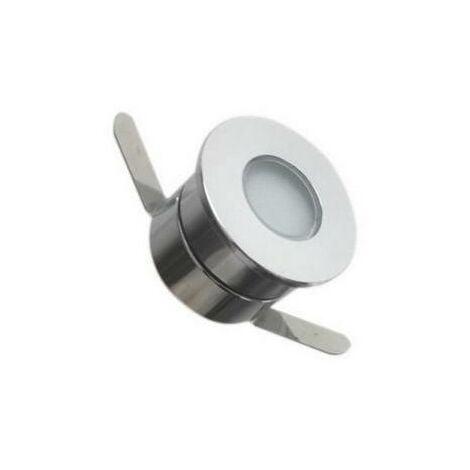 Spot LED Extérieur Encastrable 1W 12V IP65 45° - Blanc Neutre 4000K - 5500K