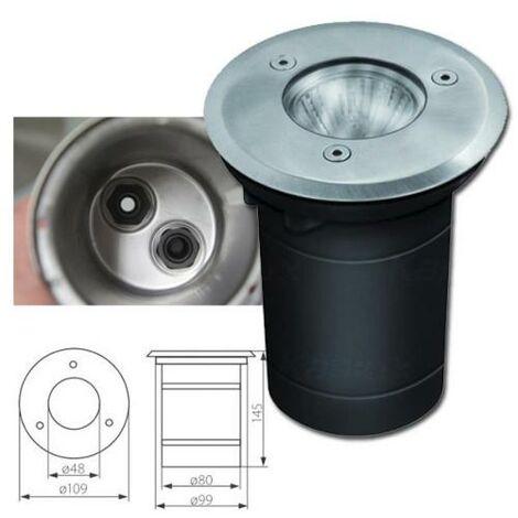 Spot LED Exterieur Encastrable 3W GU10 Blanc Neutre