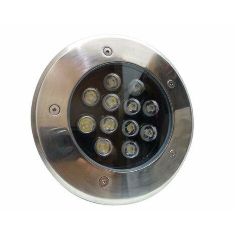 Spot LED Extérieur Encastrable IP65 220V Sol 12W 60