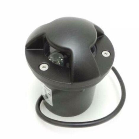 Spot LED Extérieur Encastrable IP65 220V Sol 3W Walkable 3 faisceaux - Blanc Chaud 2300K - 3500K