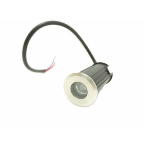 Spot LED Extérieur Encastrable Sol IP68 1W 45
