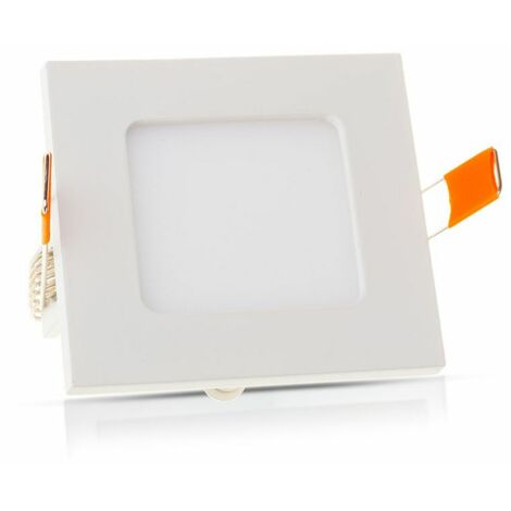 Spot LED Extra-plat  12W Carré Blanc Avec Transfo Vt-1207