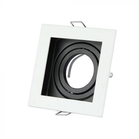 Spot LED Extra-plat  12W Rond Blanc Avec Transfo Vt-1207