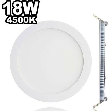 Spot LED Extra-plat 18W Blanc Avec Transfo Vt-1807