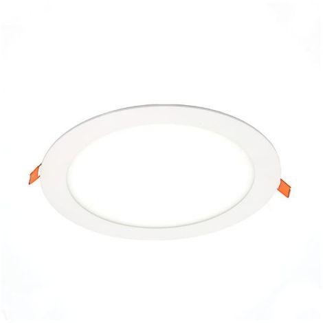 Spot LED Extra-plat  18W Rond Blanc Avec Transfo Vt-1807